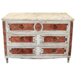 18th Century Neoclassical Painted Italian Commode/Chest of Drawers, circa 1780