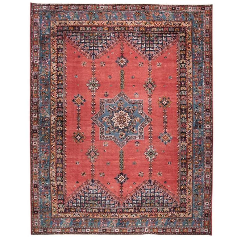Antique Rabat Carpet At 1stdibs