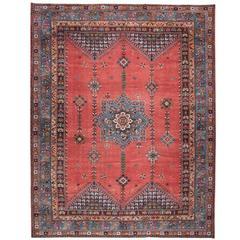 Antique Rabat Carpet
