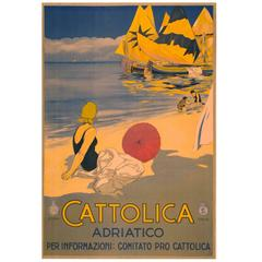 Travel Poster for Cattolica Italy