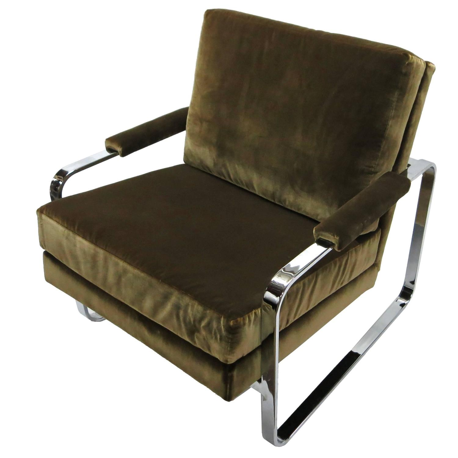 Flatbar lounge chair by bernhardt for flair division 1970 for Bernhardt furniture for sale