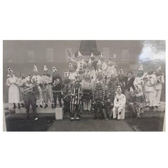 Albert Hester Photograph 1933 Clapton London, London Hospital Residents Band