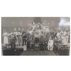 Albert Hester Photograph 1933 Clapton London, London Hospital Residents Band