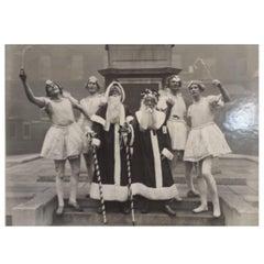 Albert Hester Photograph Christmas 1933 Clapton London, London Hospital Band