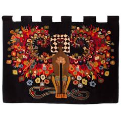 Incredible Hand Woven Wall Tapestry
