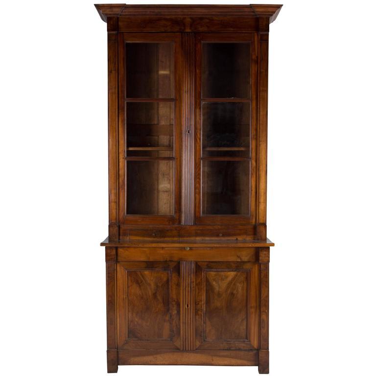 19th Century Walnut Bookcase