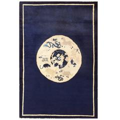Antique Chinese Zodiac Scatter Rug