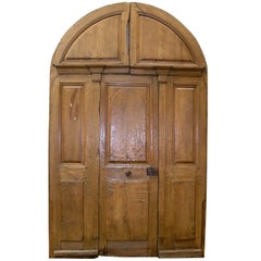 Antique Walnut Doorway