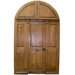 Antique Walnut Doorway