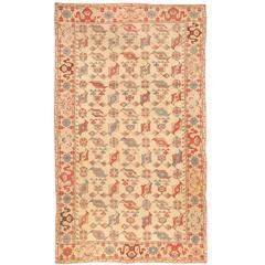 Antique 19th Century Transylvanian Bird Carpet
