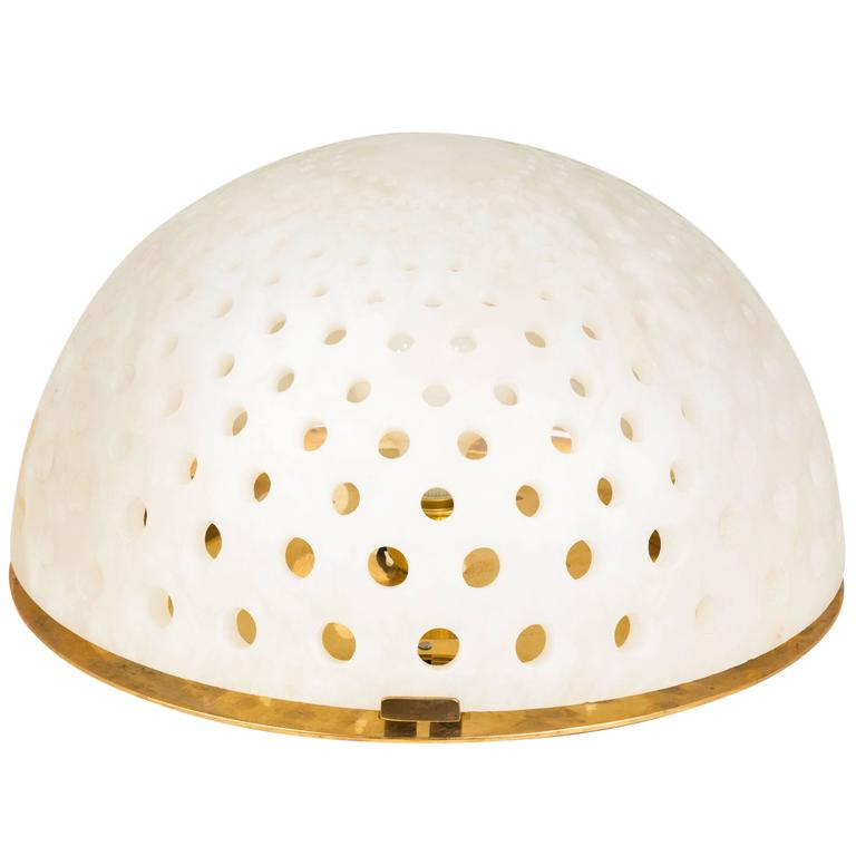 Alabaster Table Lamp by Angelo Mangiarotti For Sale
