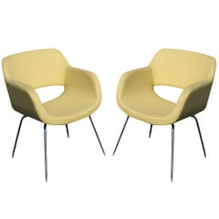 (2) Stendig Eero Aarnio Viking Lounge Chair