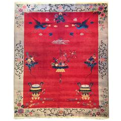 Art Deco Chinese Carpet By Nichols And Co For Sale At 1stdibs