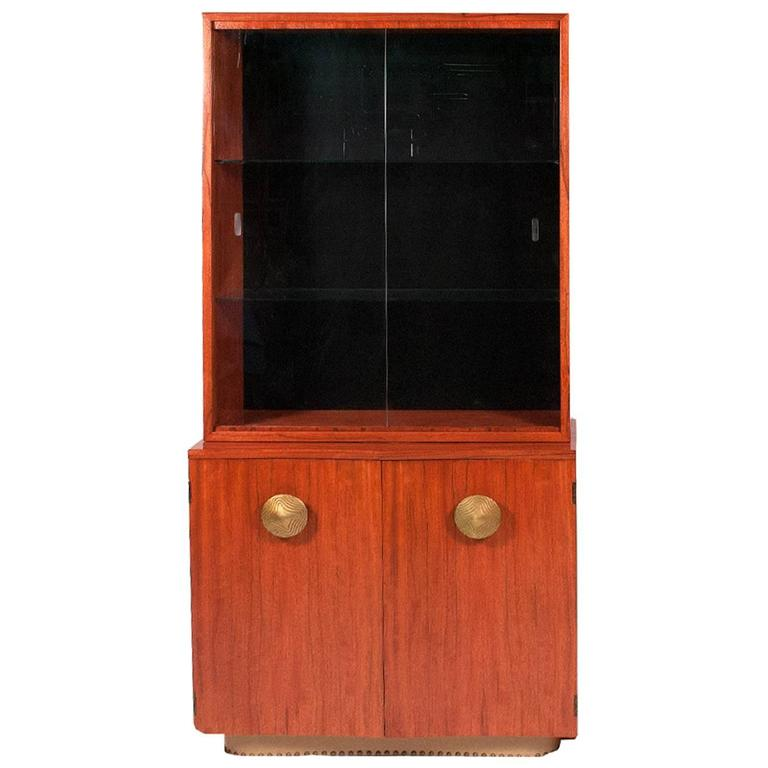 """Gilbert Rohde """"Paldao"""" China Cabinet No. 4190 For Sale"""