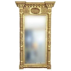 Magnificent Water Gilded Pier Mirror
