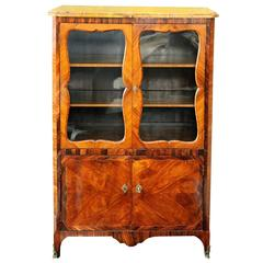 French Louis XV Glazed Cabinet, circa 1760