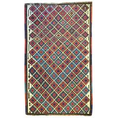 Early 20th Century Shahsavan Kilim