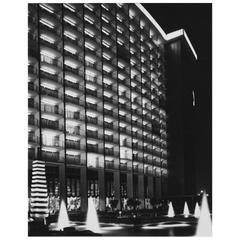 Photograph of the Century Plaza Hotel by Julius Shulman