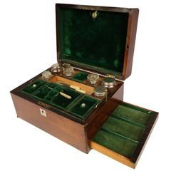 19th Century Rosewood Toiletry Box