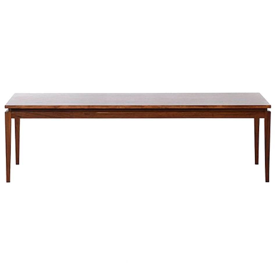 Vintage Danish Modern Floating-Top Coffee Table For Sale