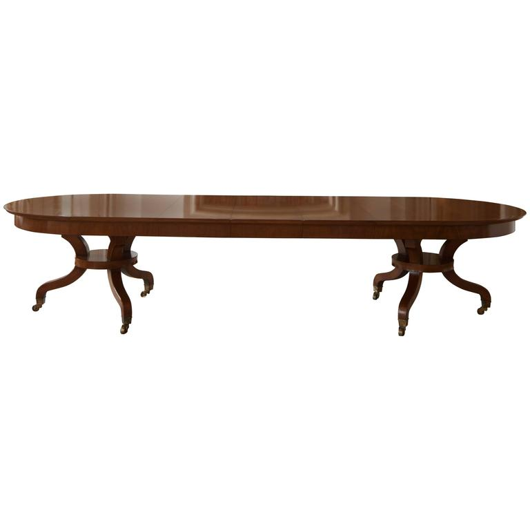 David Easton Walnut Extending Table