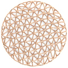 Macedonia D50 Tray 'Rose Gold Plated Bronze'