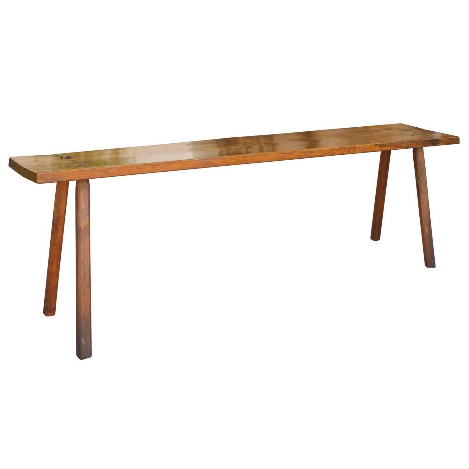 Long narrow table at 1stdibs for Long narrow side table