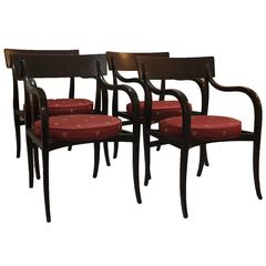 Alexandria Dining Chairs by Edward Wormley for Dunbar