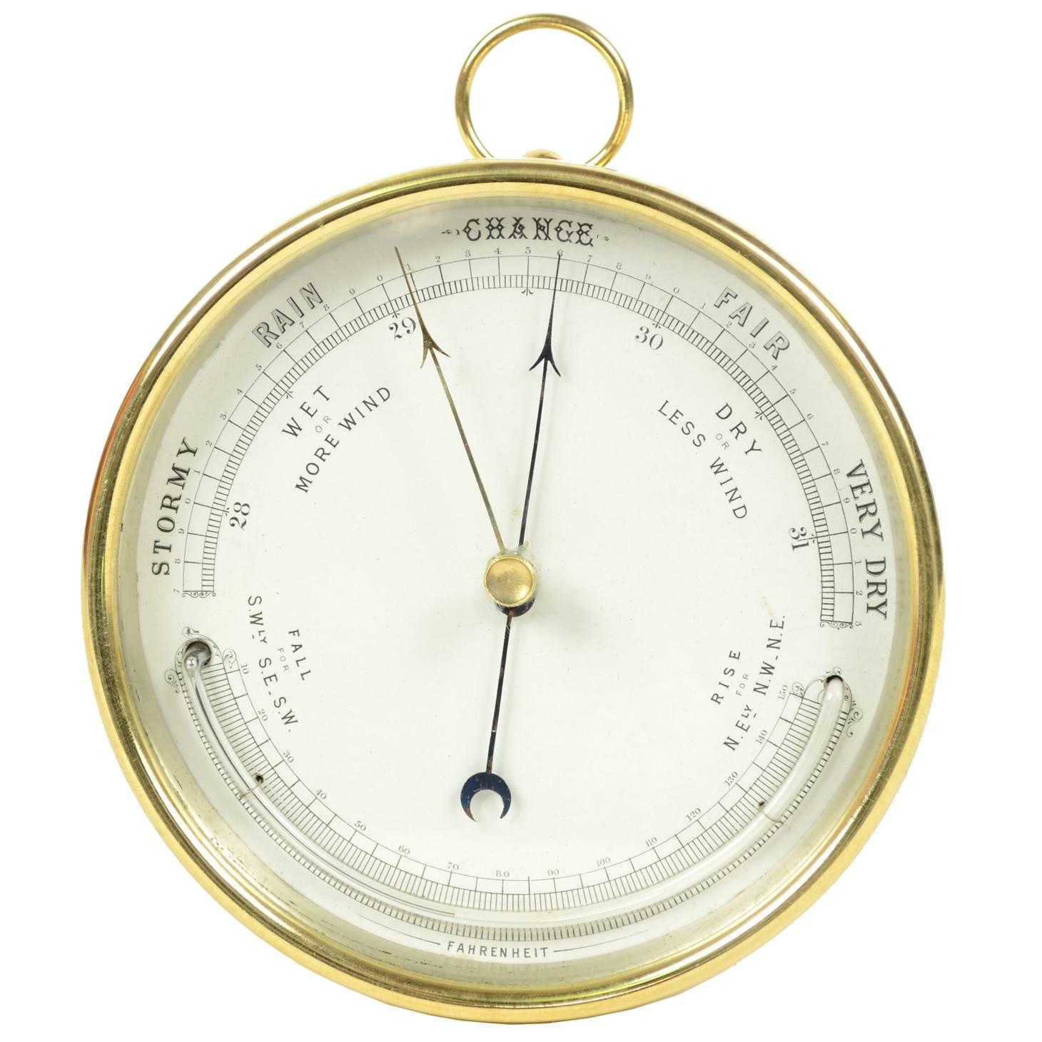 Aneroid Barometer At 1stdibs