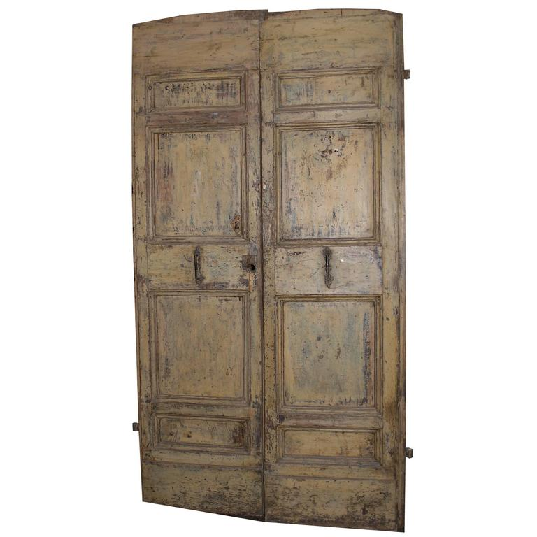 Antique Double Door For Sale - Antique Double Door For Sale At 1stdibs