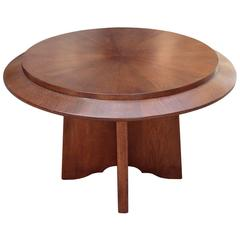 French Round Cocktail Table