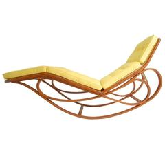 Rocking Chaise Longue by Edward Wormley