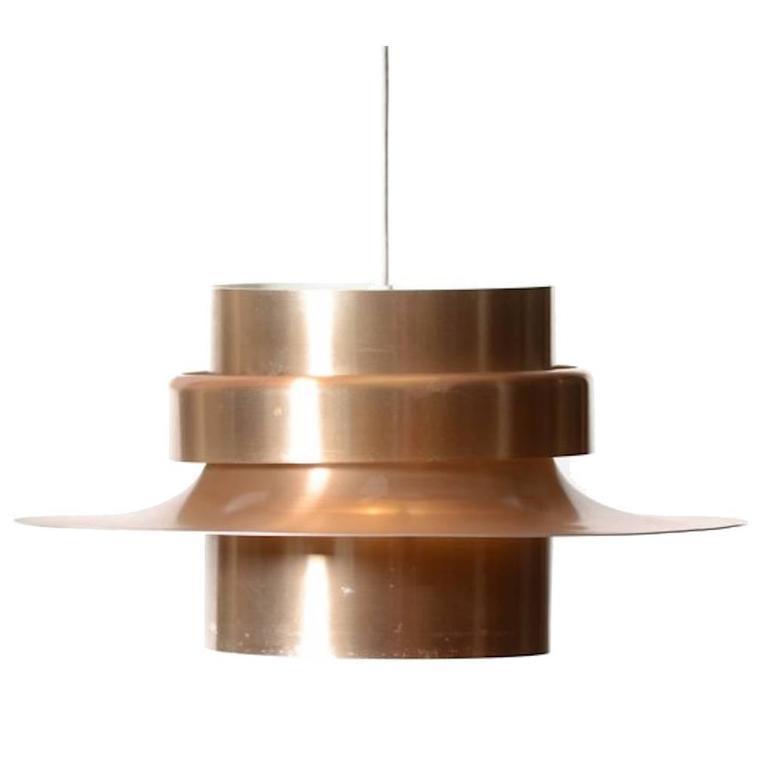 Vintage Danish Modern Pendant Light