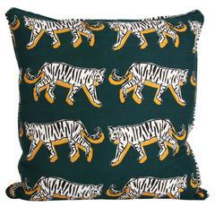 White Tiger Pillow