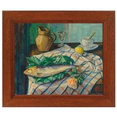 Original Still Life Painting, Signed