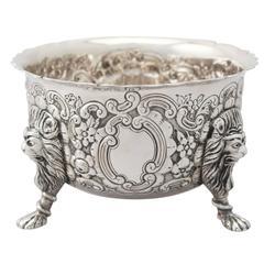 Irish Sterling Silver Bowl - Antique Edwardian