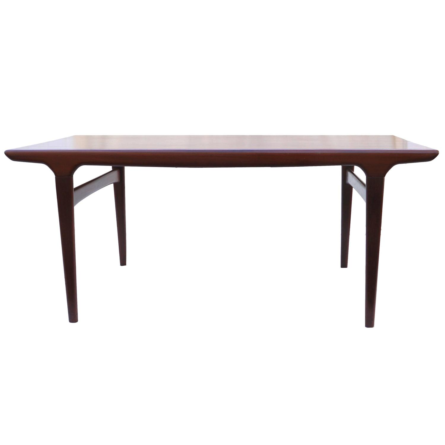 Johannes andersen dining table stow away leaf and legs at for Stowaway dining table