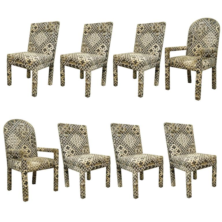 Parsons style furniture parsons style rolling club arm chairs attributed to milo baughman mcm - Reasons why you need stacking chairs ...