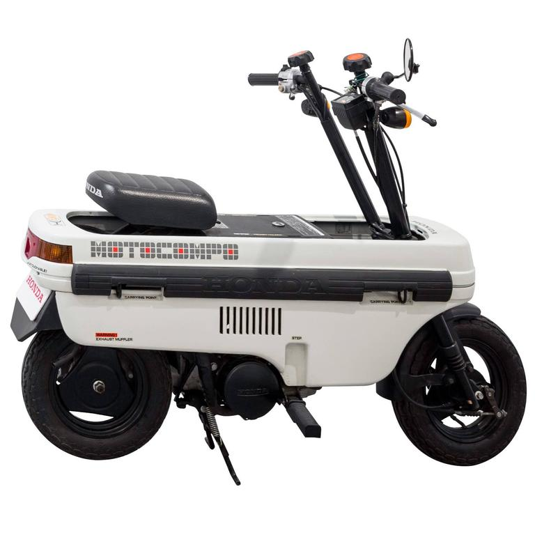 Honda NCZ 50 Motocompo AB12 Trunk Bike By Motor Company For