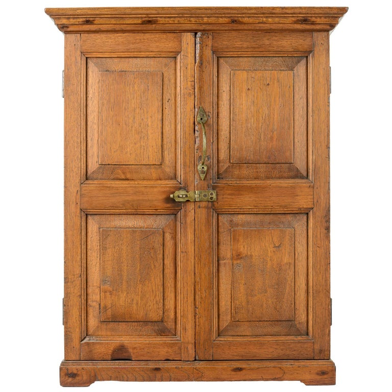 18th Century American Hanging Cupboard For Sale