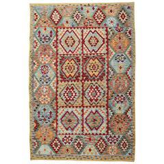 Traditional Multi-Colour Kilim Rugs