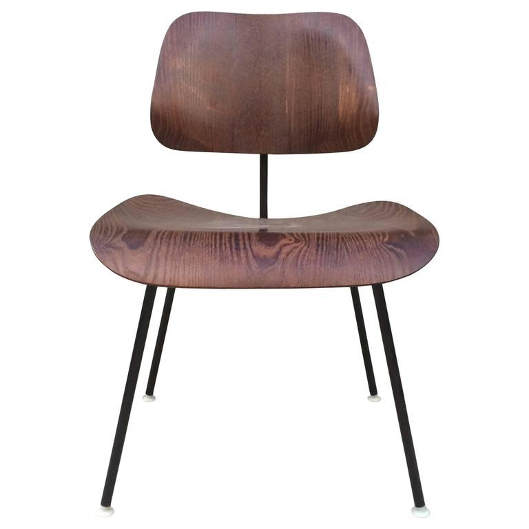 Herman Miller Eames Wenge Wood Veneer DCM
