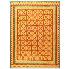 Antique Spanish Alpujarra Rug