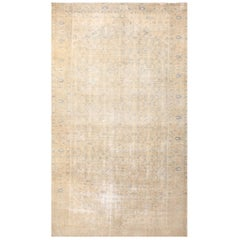 Antique Persian Malayer Shabby Chic Rug. Size: 9 ft 6 in x 16 ft