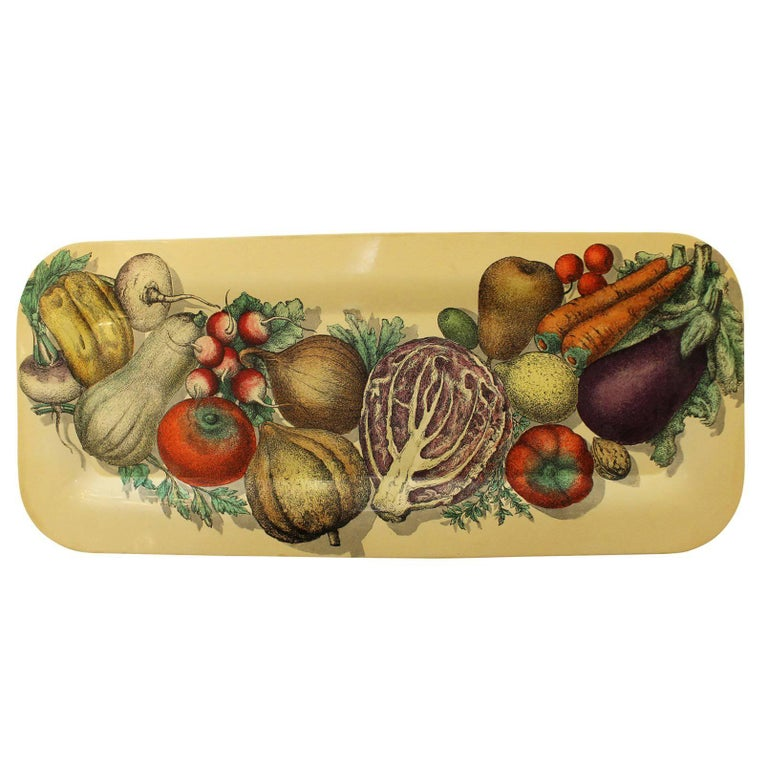 Piero Fornasetti Serving Tray, Italy, 1960s For Sale