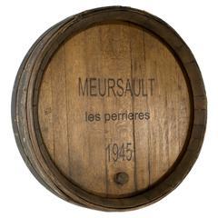 Burgundy Wine Casket Face with Spigot, 1945