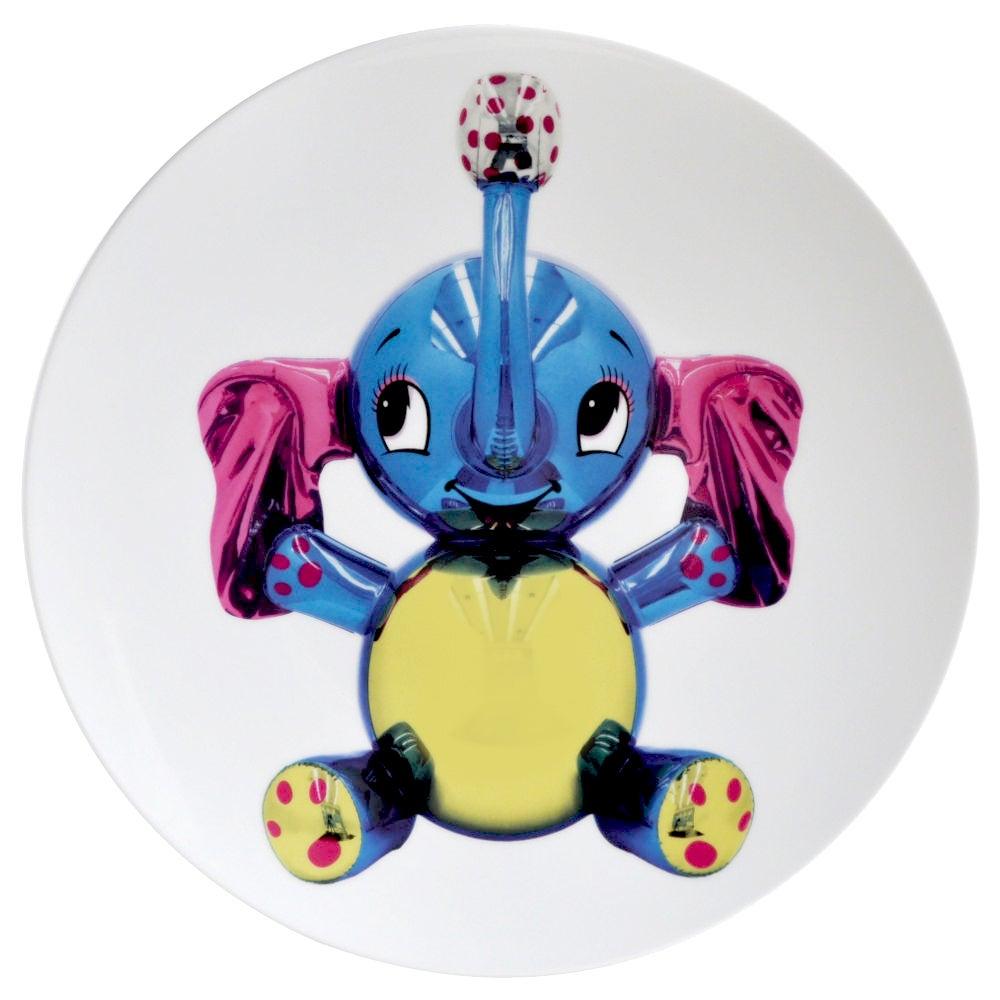 Elephant Plate by Jeff Koons
