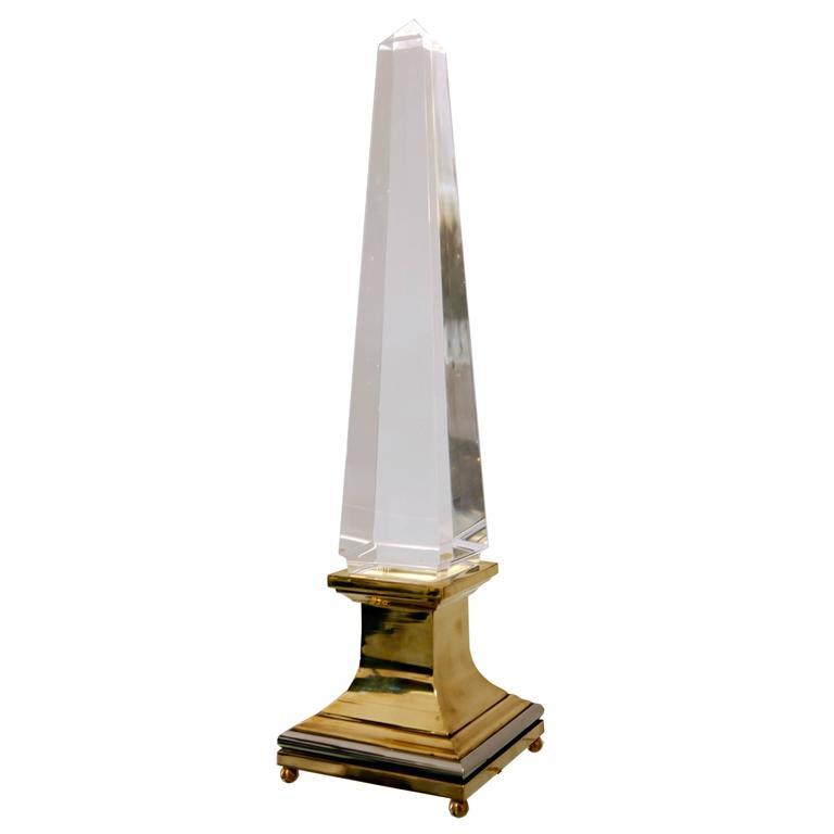 1970s Obelisk Jansen Lamp