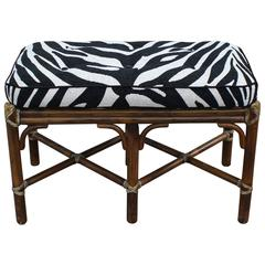Wonderful Bamboo Zebra Bench