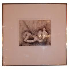 Signed and Numbered Framed Lithograph by Henry Moore